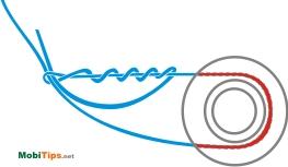Как привязать леску на рыболовную катушку