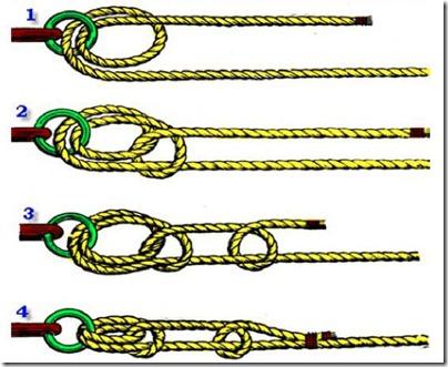 рыболовный узел штыковой