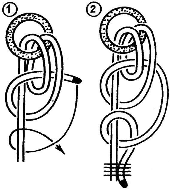 Как вязать якорные узлы